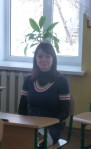Newest addition to the English teaching Team, Yulia