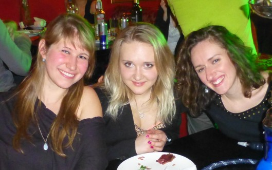 Me, my Ukrainian host sister Natasha & fellow PCV Julie.