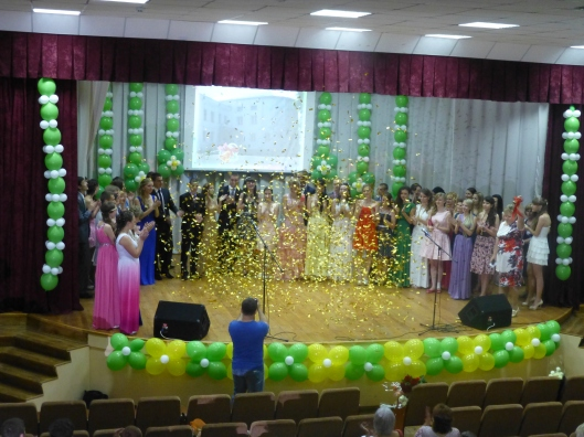 11th Form graduation ceremony
